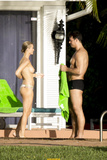 Joanna Krupa - topless in Miami (August 2013)