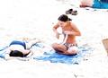 Natalie Portman - topless in St. Bart's (1/2000) p II